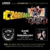 CZARFACE + Slaine vs. Termanology
