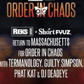 "Reks x ShortFyuz ""Order In Chaos Album Release Party"""
