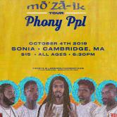 """Phony PPL""""MO'ZA-IK TOUR"""" leedzEdutainment"""